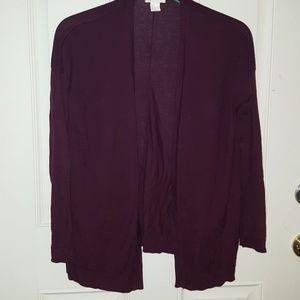H&M Purple cardigan